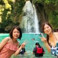 【みんなのセブ】現地格安ツアー『ジンベイザメ&スミロン島&カワサンの滝も行けたら行っちゃう!?ツアー(Gopro無料レンタル)』